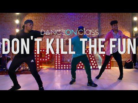 Sevyn Streeter Ft. Chris Brown - Don't Kill The Fun | Kenny Wormald Choreography | DanceOn Class