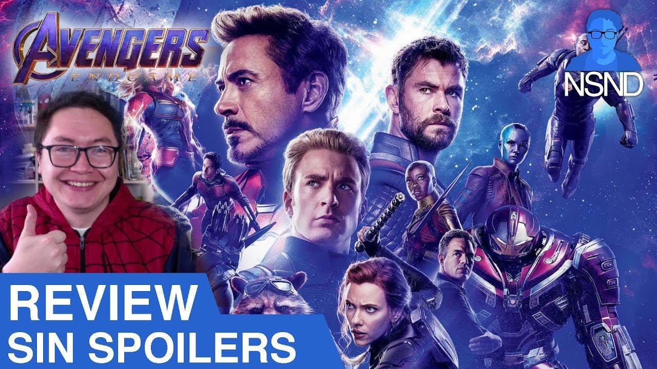 Ver AVENGERS: ENDGAME | Review SIN SPOILERS | La mejor película de superhéroes de la historia? en Español