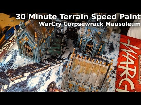 WarCry Corpsewrack Mausoleum -  30 Minute Speed Paint