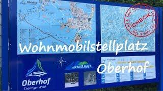 Leni & Toni CHECK: Wohnmobilstellplatz Oberhof   Thüringer Wald  