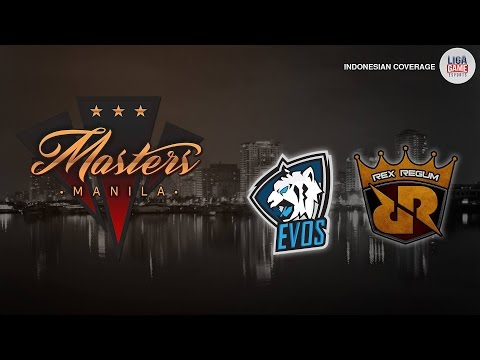 DOTA 2 : Evos vs WG.Unity & Evos vs Hawk Gaming @ Manila Master SEA Qualifier