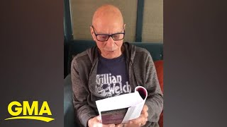 Patrick Stewart reads soothing Shakespeare on Twitter while social distancing