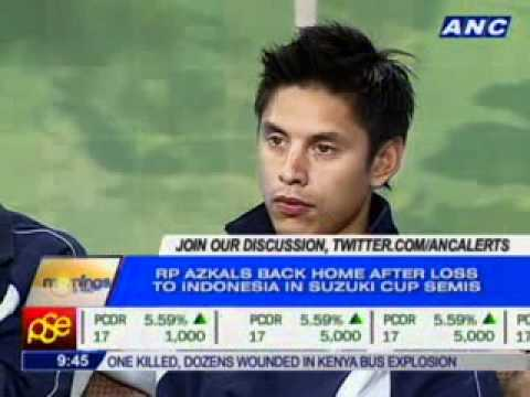 Mornings @ ANC: Azkals Optimistic About the Future of Football in RP