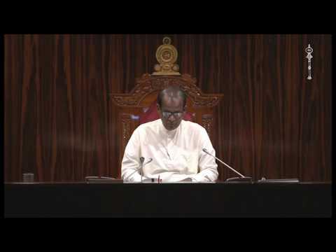 Parliament of Sri Lanka - 22 March 2017 Part 6