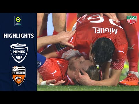 Nimes Lorient Goals And Highlights
