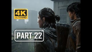 The Last of Us Part 2 Walkthrough Part 22 - Different Paths (4K PS4 PRO Gameplay)