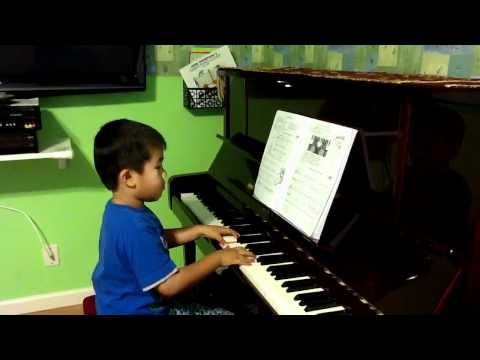A Song of Penny Candy, No.7, played on piano by Brian Zhou, May 6t
