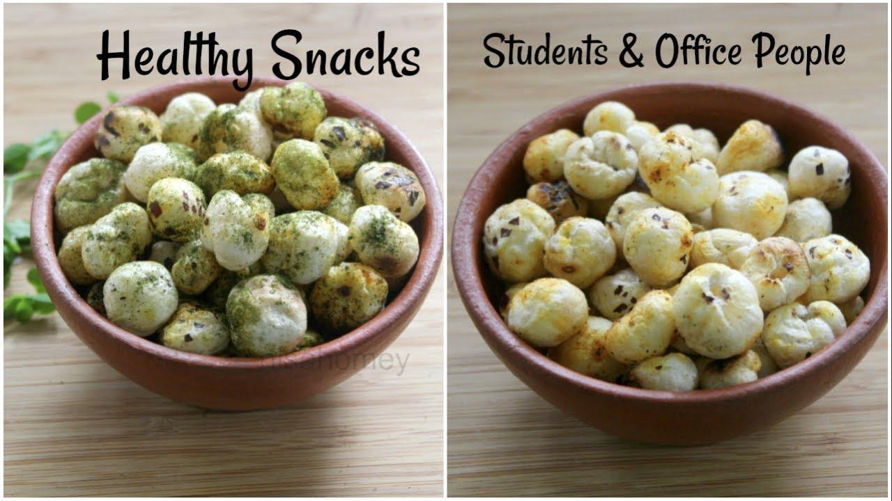 Healthy Indian Snacks Recipes With Makhana