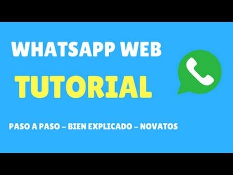 Tutorial C�mo Usar Whatsapp Web para PC | MUY F�CIL | Novatos !