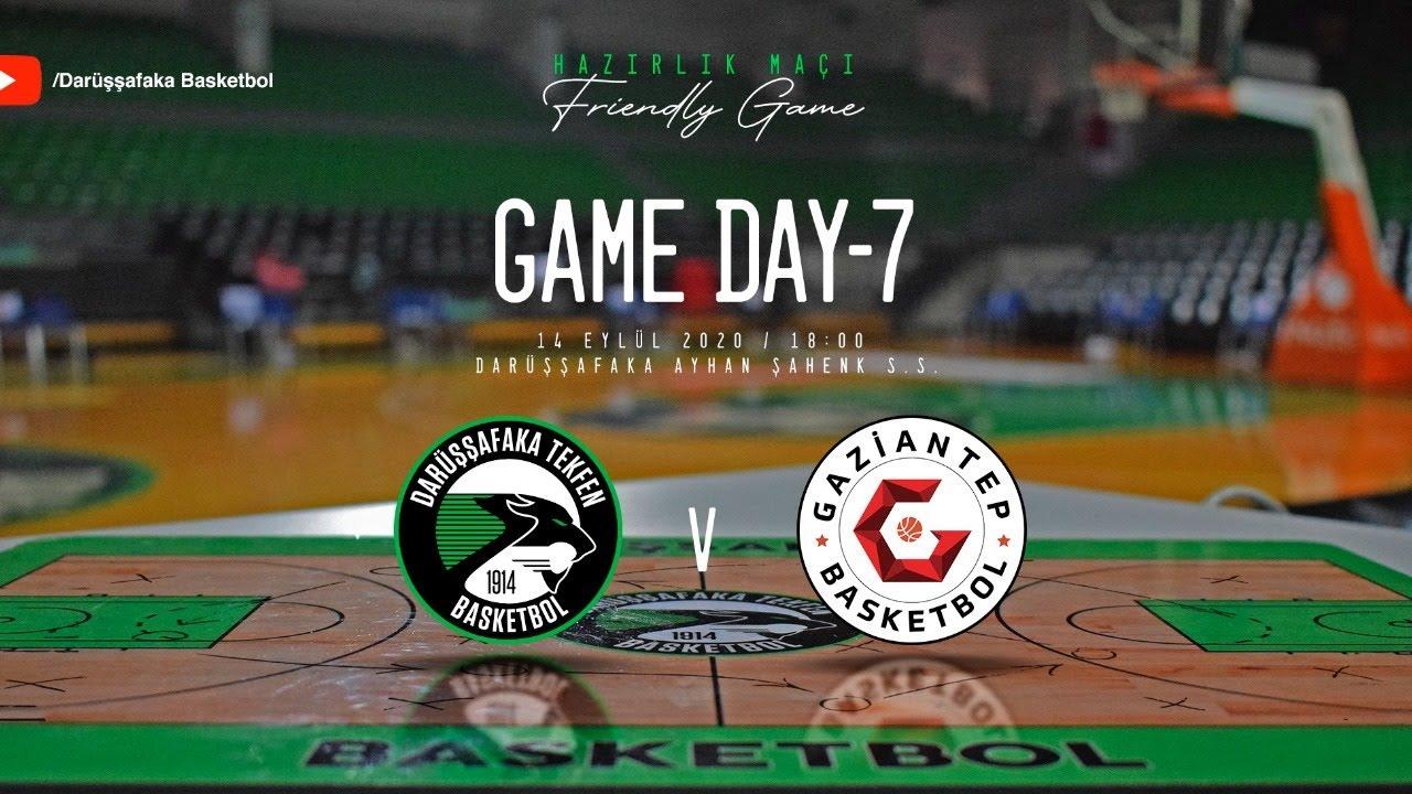 Darüşşafaka Tekfen - Gaziantep Basketbol 14 Eylül 2020