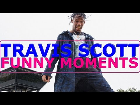 Travis Scott FUNNY MOMENTS (BEST COMPILATION)