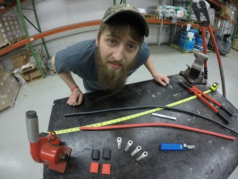 A Positive Post: How to Assemble a Battery Cable