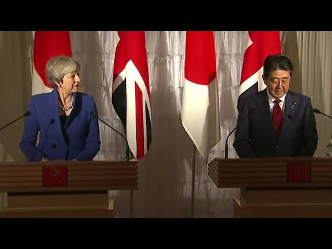 Theresa May & Shinzo Abe Joint press conference w/Q&A - 31st August 2017