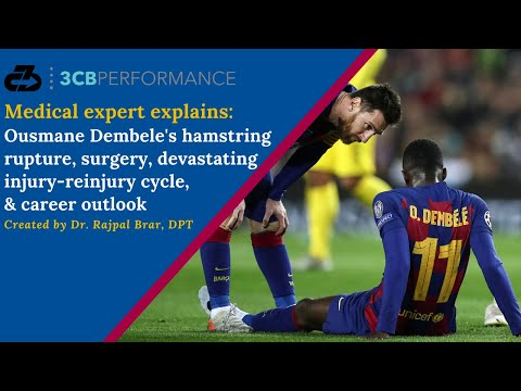 Explaining Ousmane Dembele's right hamstring rupture, return, reinjury cycle, and career outlook