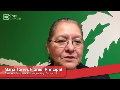 Testimonial María Torres Flores | Francisco Bravo Medical Magnet High School | Grupo Crecer