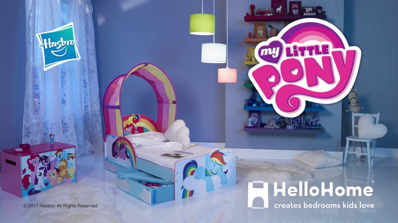 Captivating My Little Pony Toddler Bed By HelloHome