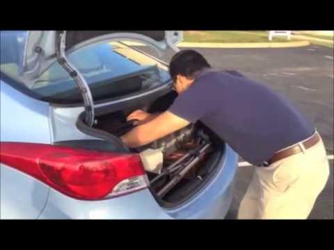 Dennis Hyundai Of Dublin   Nick Eckhoff Video Tour Of The 2012 Hyundai  Elantra   YouTube