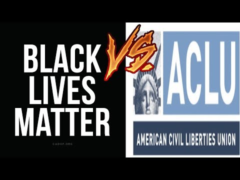 BLM Shuts Down ACLU Free Speech Event