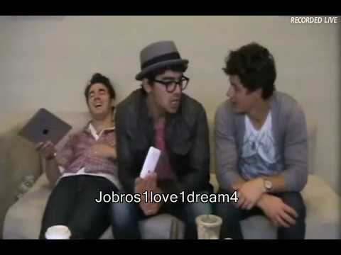 Jonas Brothers Live Chat (05-13-10) - Part 4