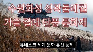 수원화성 성곽 둘레길    유네스코 세계 문화유산 지정…