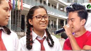 बुद्दले जितिसके नेपाल आइडल, उनको स्कूल पुग्दा यस्तो भेटियो - Budda Lama's School