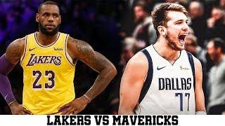 Lebron James Full Highlights 2019 12 01 Lakers Vs Mavs 25