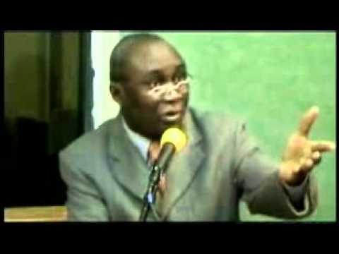 L' interview du ministre Moungounga Kombo Nguila (1ere partie-generale) CONGO-B.
