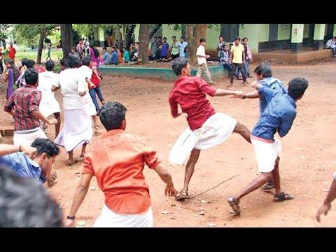 SFI - KSU Clash in Government Law College, Ernakulam thumbnail