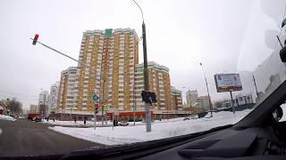 Смотреть видео По улицам Москвы! Поездка по Москве на автомобиле. VLOG онлайн