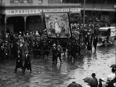 Eight Hour Day At Tamworth 1916 - Labour Day Parade 23/10/1916