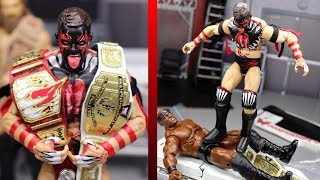 EPIC CUSTOM WWE FIGURE CHAMPIONSHIP BELTS!