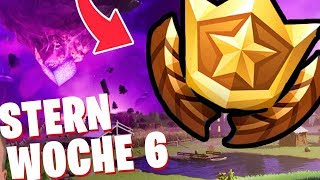 Secret BATTLE PASS STERN WEEK 6 ⭐ Fortnite The Return Season 10 ORT German