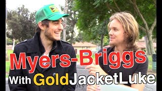 Personality Test With Youtubers: GoldJacketLuke