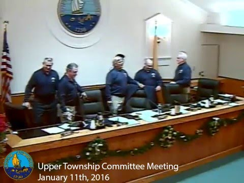 Upper Township Committee Meeting 1/11/16