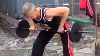 Тяга штанги в наклоне: упражнения для спины