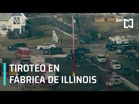 Tiroteo en Estados Unidos; tiroteo en fábrica de Illinois - Las Noticias