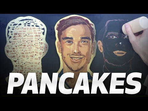 AMAZING SPURS PANCAKES! FT. SONNY, KANE, WINKS, SISSOKO AND POCHETTINO!