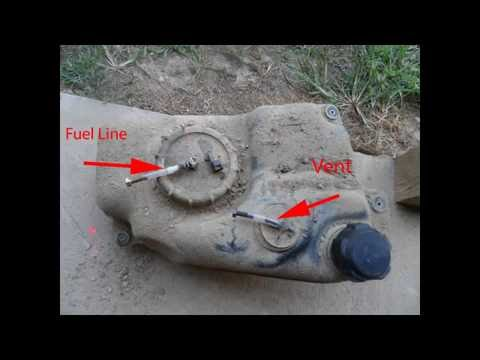How to install fuel filter in Suzuki KingQuad (ProFill