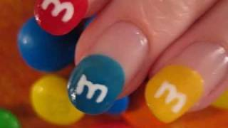 M&M Nail Art