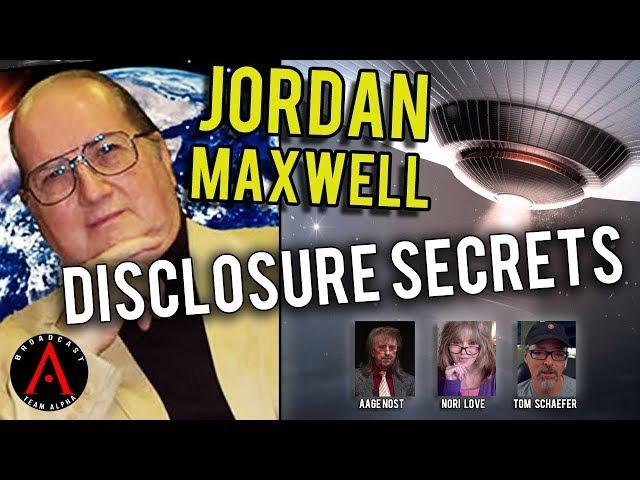 Jordan Maxwell  - Talks About Disclosure Secrets
