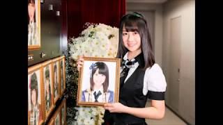 HKT48チームHの若田部遥(18)が1月12日、福岡市の西鉄ホールで自身最後...