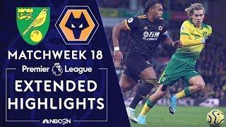 Norwich City v. Wolves | PREMIER LEAGUE HIGHLIGHTS | 12/21/19 | NBC Sports
