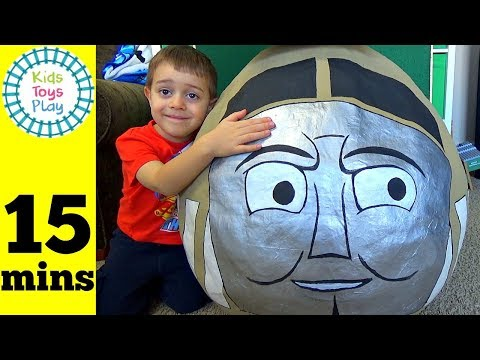 Thomas and Friends GIANT Surprise Egg | Thomas Train Biggest Diesel 10 Surprise Egg & Playtime