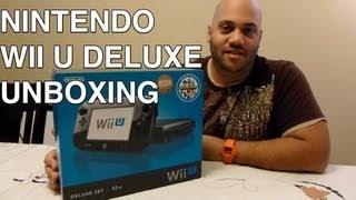 Nintendo Wii U Deluxe Set Unboxing