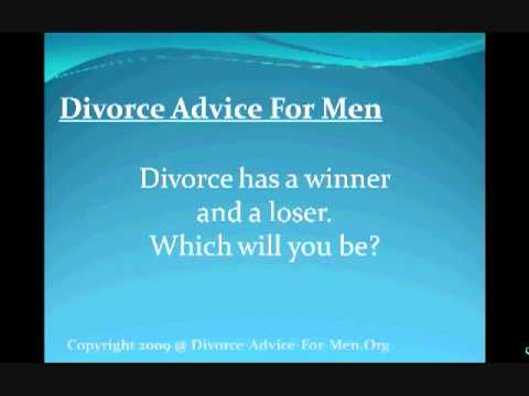 Divorce Advice for Men