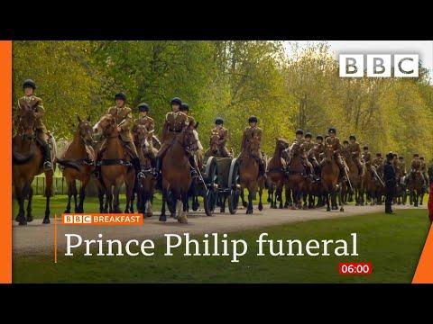 Prince Philip: Duke's four children to walk alongside coffin at funeral @BBC News live 🔴 BBC