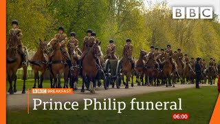 Prince Philip: Duke's four children to walk alongside coffin at funeral @BBC News live 🔴 BBC