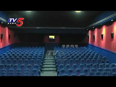 Container Cinema Hall In Vizag | Mobile Theatre | Moving Theatre | TV5 News
