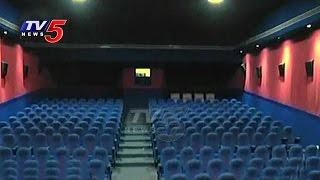 Container Cinema Hall In Vizag | Mobile Theatre | Moving Theatre | TV5 News