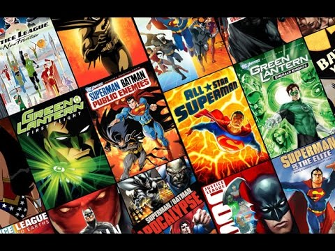 Motion Picture Collection - DC Animated Films